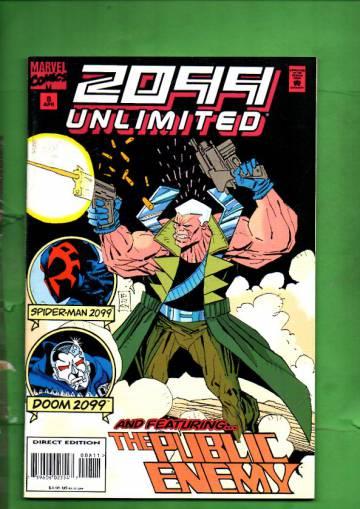 2099 Unlimited Vol. 1 #8 Apr 95