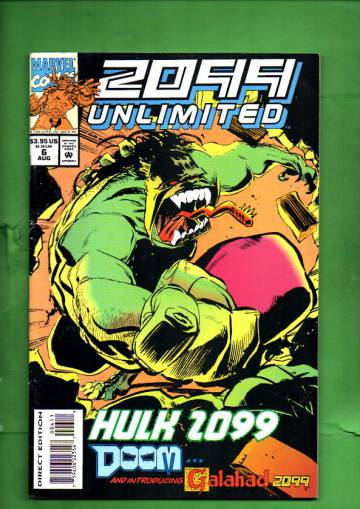2099 Unlimited Vol. 1 #6 Oct 94