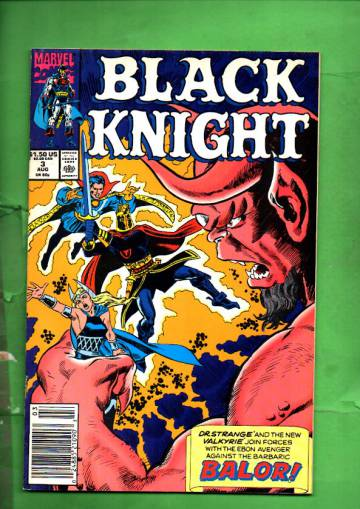 Black Knight Vol. 1 #3 Aug 90