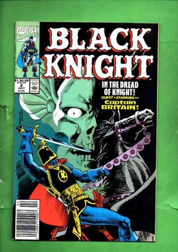 Black Knight Vol. 1 #2 Jul 90