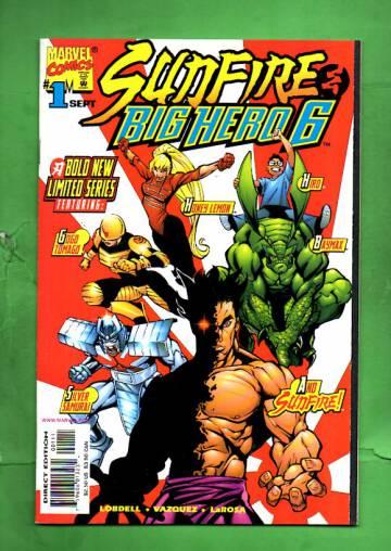 Sunfire & Big Hero 6 Vol. 1 #1 Sep 98