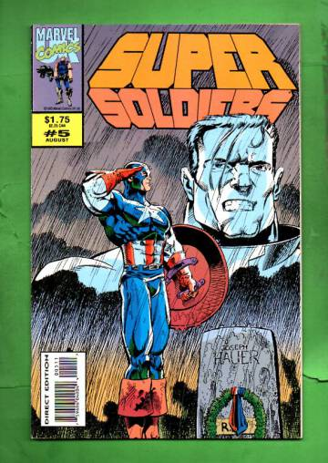 Supersoldiers Vol. 1 #5 Aug 93