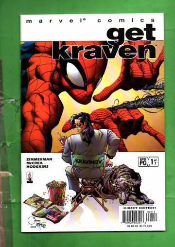 Spider-Man: Get Kraven Vol 1 #1 Aug 02