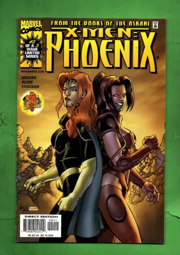 X-Men Phoenix Vol 1#2 Jan 00
