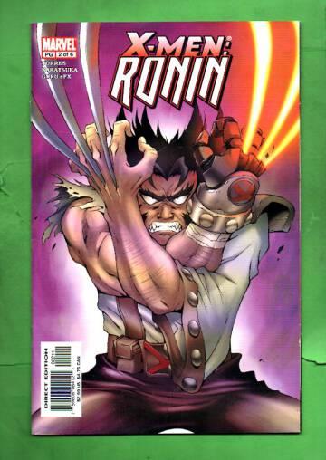 X-Men: Ronin Vol 1 #2 May 03