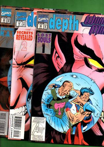 Wonder Man Vol 1 #22-25: Hidden Depth #1-4 Jun-Sep 93