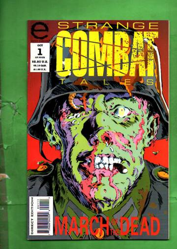 Strange Combat Tales #1 Oct 93