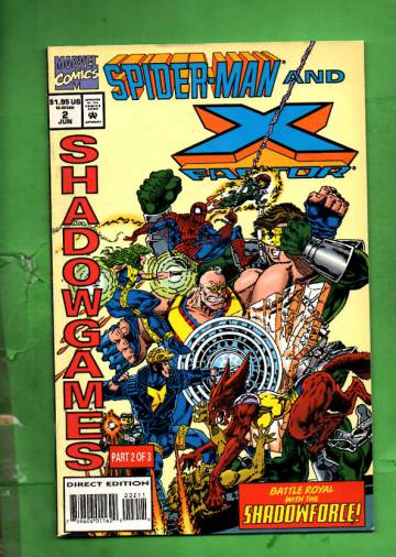 Spider-Man and X-Factor: Shadowgames Vol. 1 #2 Jun 94
