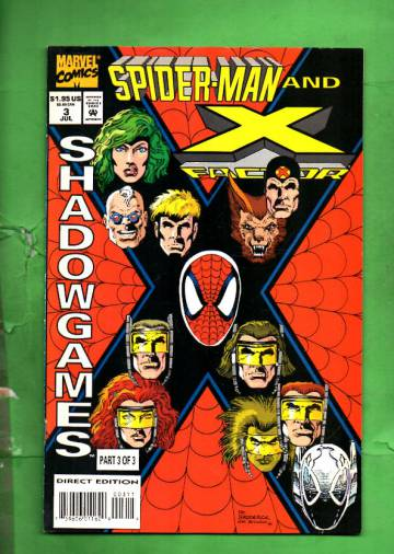 Spider-Man and X-Factor: Shadowgames Vol. 1 #3 Jul 94