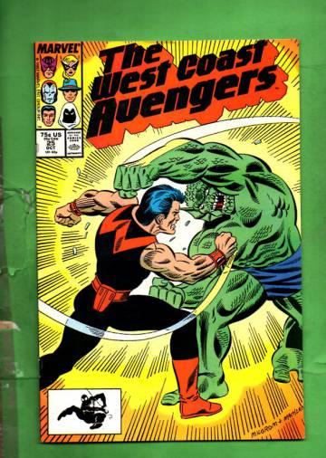 West Coast Avengers Vol. 2 #25 Oct 87
