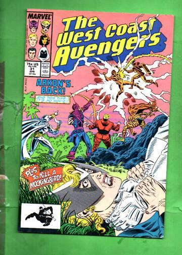 West Coast Avengers Vol. 2 #31 Apr 88