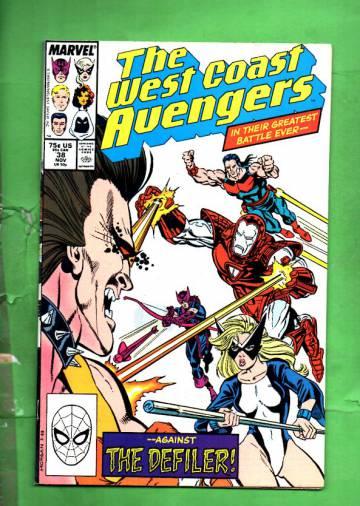 West Coast Avengers Vol. 2 #38 Nov 88