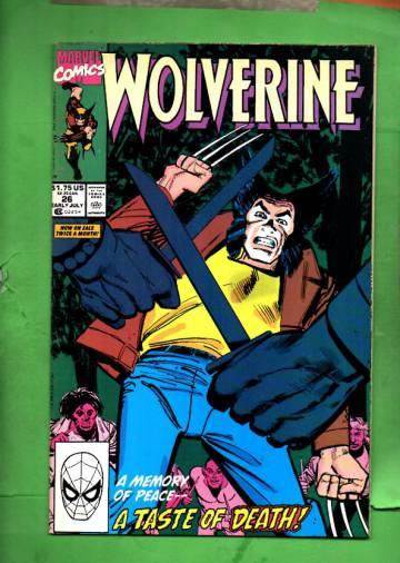 Wolverine #26 Mid Jul 90