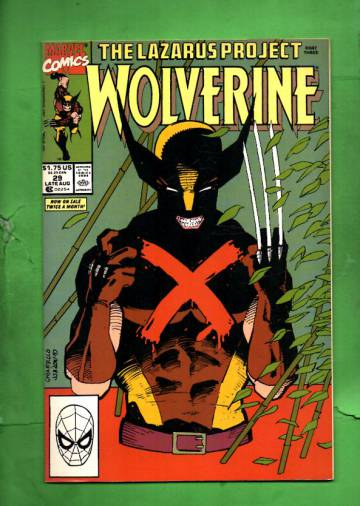 Wolverine #29 Late Aug 90