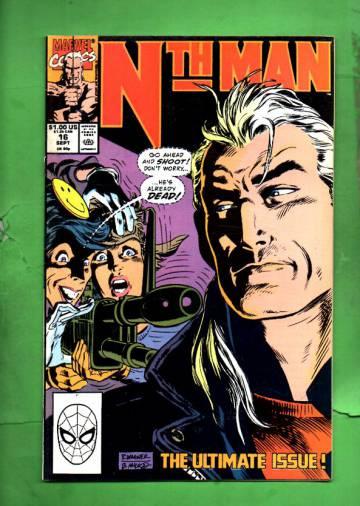 Nth Man Vol. 1 #16 Sep 90