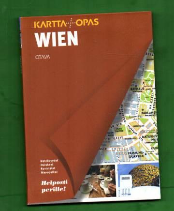 Wien - Kartta+Opas