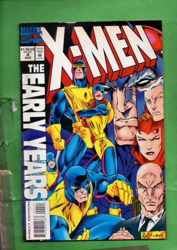 X-Men: The Early Years Vol. 1 #4 Aug 94
