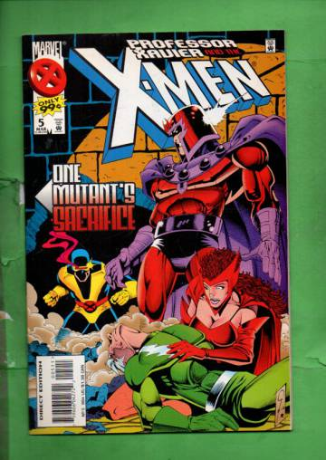 Professor Xavier and the X-Men Vol. 1 #5 Mar 96