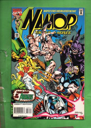 Namor, The Sub-Mariner Vol. 1 #58 Jan 95