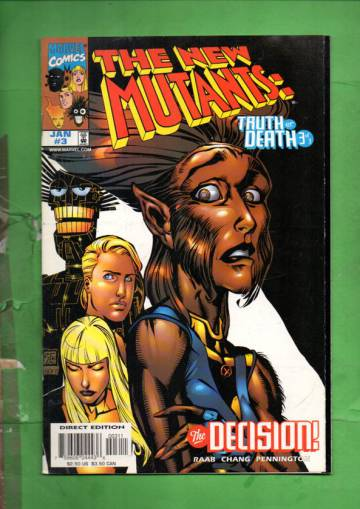New Mutants: Truth or Death Vol. 1 #3 Jan 98