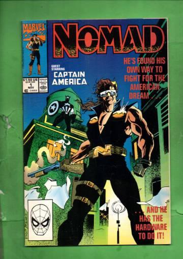Nomad Vol. 1 #1 Nov 90