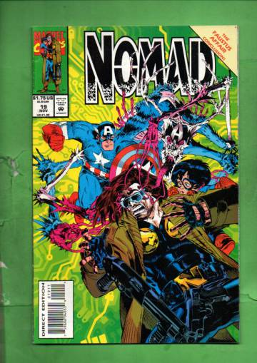Nomad Vol. 2 #19 Nov 93