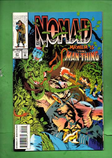 Nomad Vol. 2 #21 Jan 94
