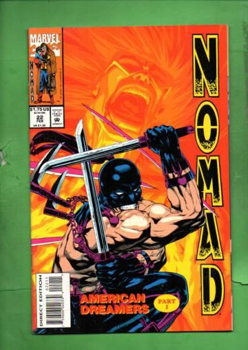 Nomad Vol. 2 #22 Feb 94
