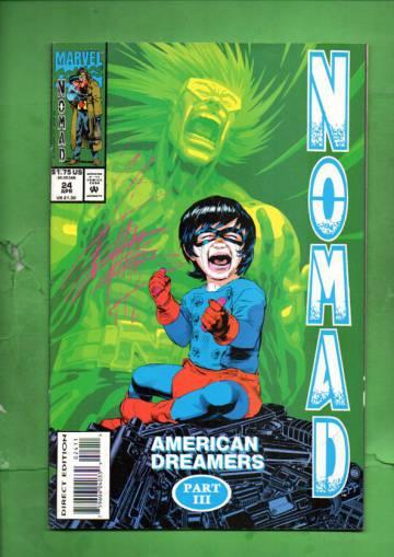 Nomad Vol. 2 #24 Apr 94