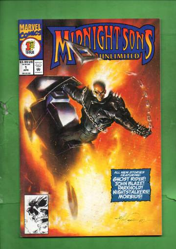 Midnight Sons Unlimited Vol. 1 #1 Apr 93