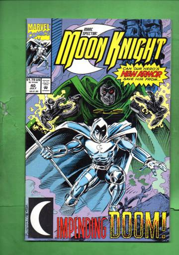 Marc Spector: Moon Knight Vol. 1 #40 Jul 92