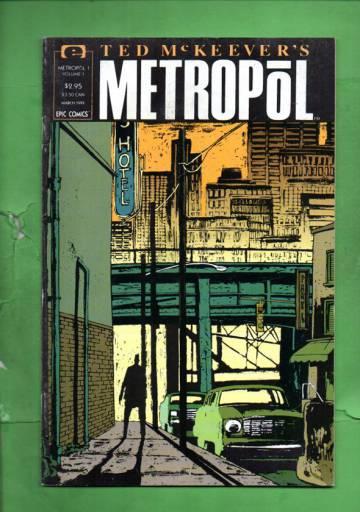 Ted McKeever's Metropol Vol. 1 #1 Mar 91