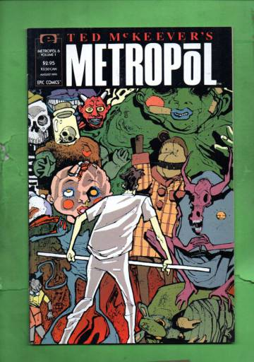 Ted McKeever's Metropol Vol. 1 #6 Aug 91