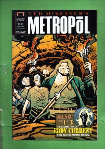 Ted McKeever's Metropol Vol. 1 #9 Nov 91