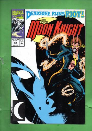Marc Spector: Moon Knight Vol. 1 #49 Apr 93