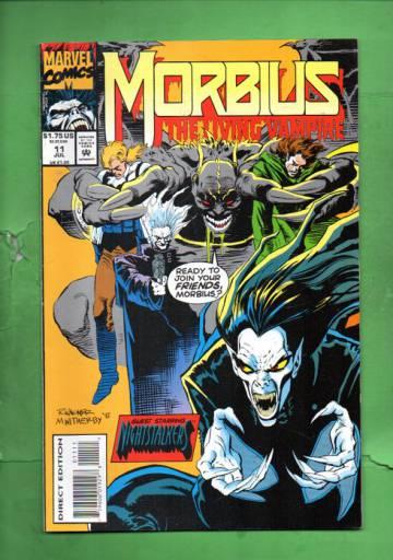 Morbius: The Living Vampire Vol.1 #11 Jul 93