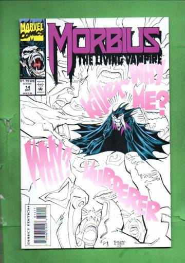 Morbius: The Living Vampire Vol.1 #14 Oct 93