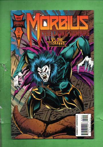 Morbius: The Living Vampire Vol.1 #19 Mar 94