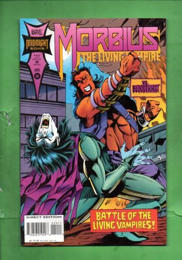 Morbius: The Living Vampire Vol.1 #20 Apr 94