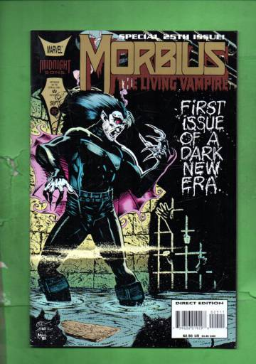 Morbius: The Living Vampire Vol.1 #25 Sep 94