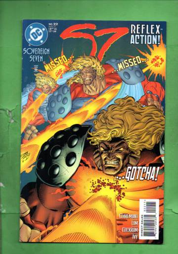 Sovereign Seven #22 May 97