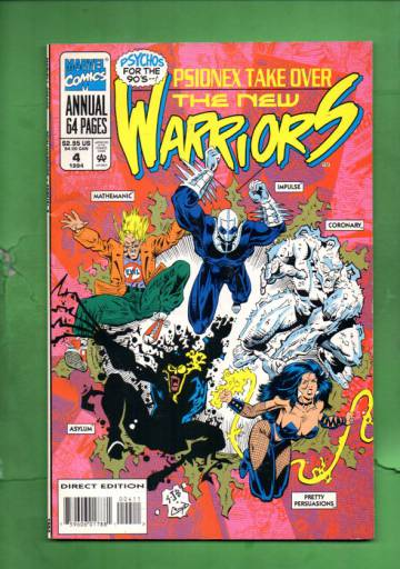 The New Warriors Annual Vol. 1 #4 94