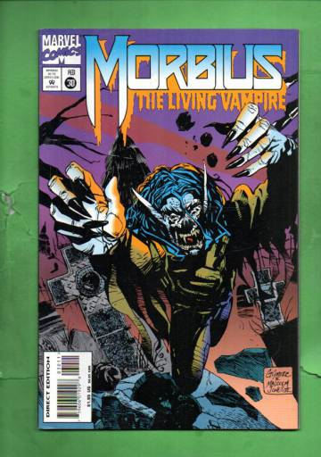 Morbius: The Living Vampire Vol.1 #30 Feb 95
