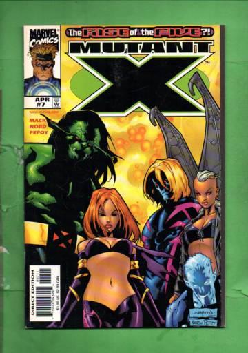 Mutant X Vol. 1 #7 Apr 99