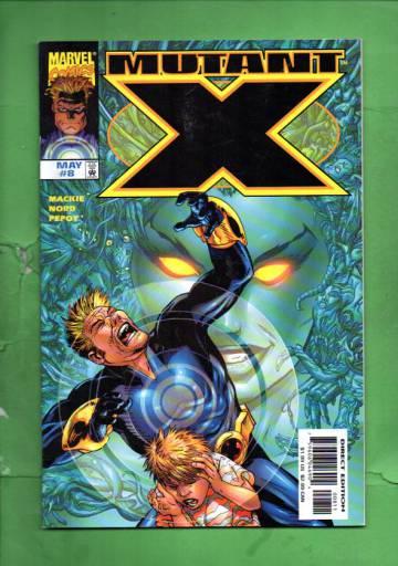 Mutant X Vol. 1 #8 May 99