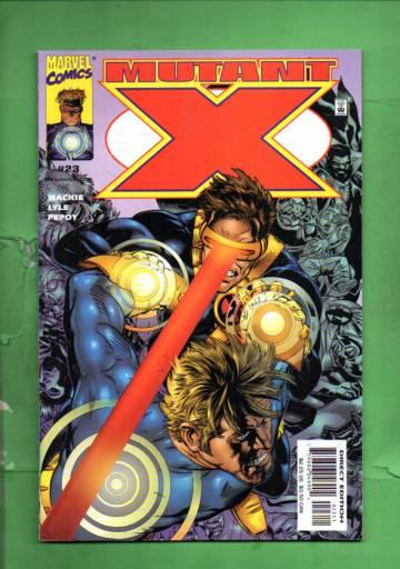 Mutant X Vol. 1 #23 Sep 00