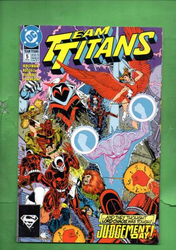 Team Titans #5 Jan 93