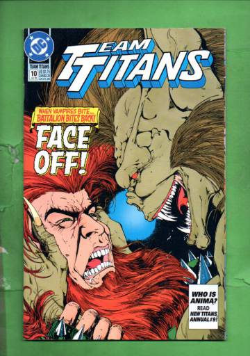 Team Titans #10 Jul 93