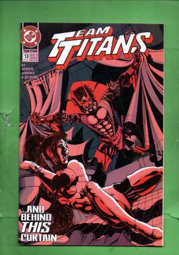 Team Titans #13 Oct 93