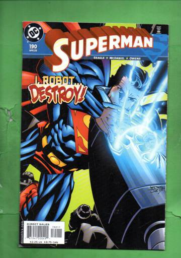 Superman #190 Apr 03